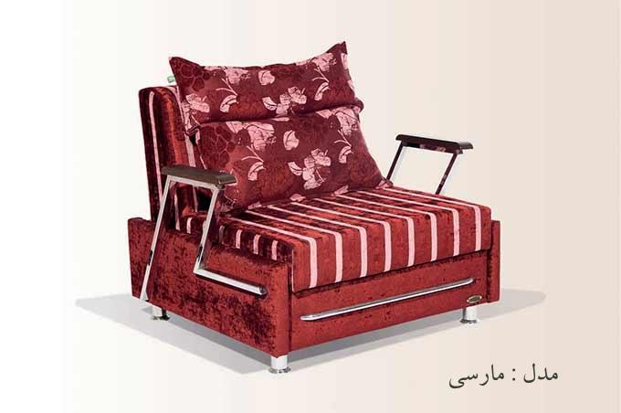 مبل و کاناپه تخت خواب شو