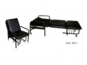 صندلی تختخواب شو